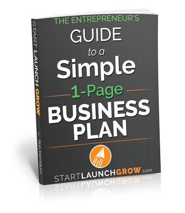 Entrepreneur's Guide to a One-page Business Plan by Rob Kornblum